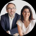 Ángel Pérez Agenjo y Ana Ruiz